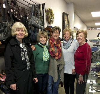 Inner Wheel visits Turning Point's Second Chance Store