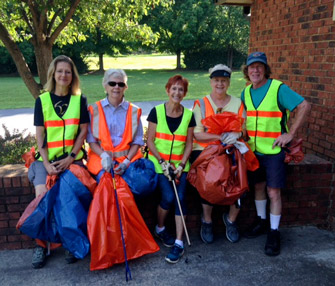 Cross and Crown Lutheran Church Roadside Cleanup